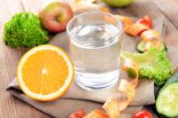 вода во время еды