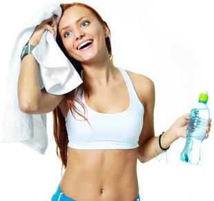 Потребление воды при занятиях спортом
