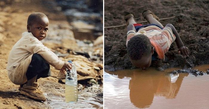 Немного информации о ситуации с пресной водой в мире